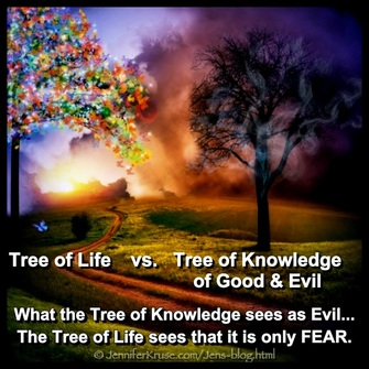Tree of Life does not believe in Evil. Questions & Insights for