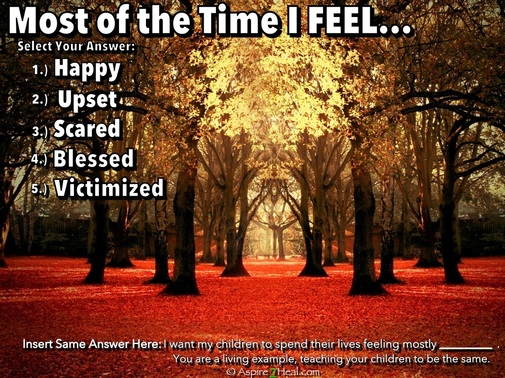 Most of the Time I Feel... - Powerful Self-Assessment in 1-minute or less! by: Jennifer Kruse, LMT CRMT - Inspirational Holistic Healer, Speaker & Writer - Fargo - JenniferKruse.com & Aspire2Heal.com