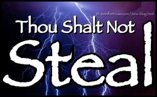 Thou Shalt Not Steal. Questions & Insights for