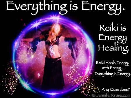 Reiki: Heal with Energy Medicine by: Jennifer Kruse, LMT CRMT - Certified Reiki Master Teacher - Fargo, ND JenniferKruse.com