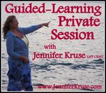 Reiki Guided-Learning Private Session with Jennifer Kruse, LMT CRMT JenniferKruse.com