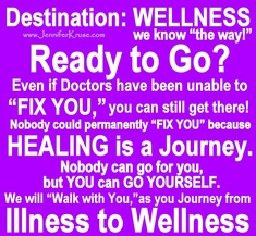 Destination: WELLNESS (we know
